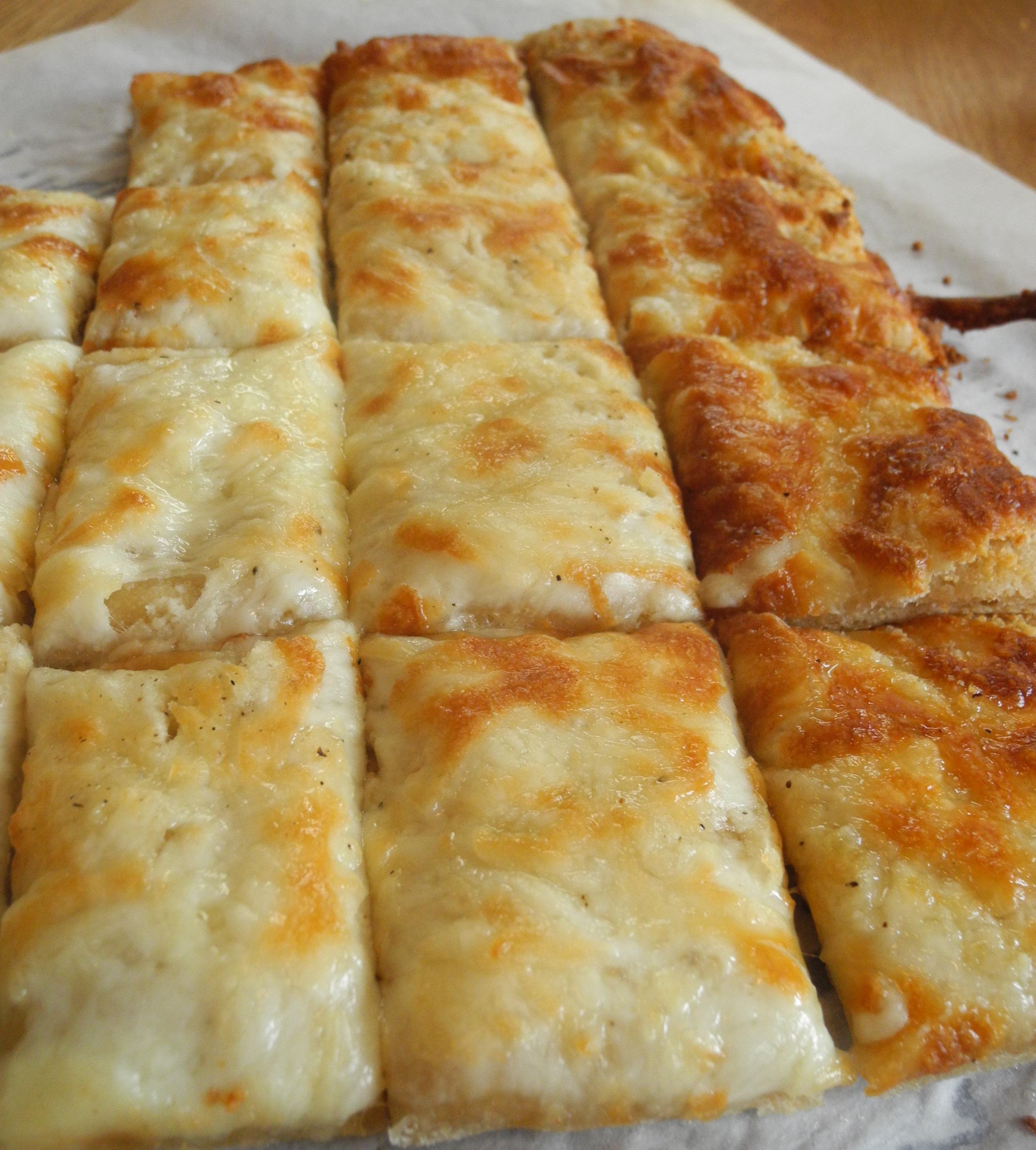 Cheesy Bread Sticks Recipe — Dishmaps