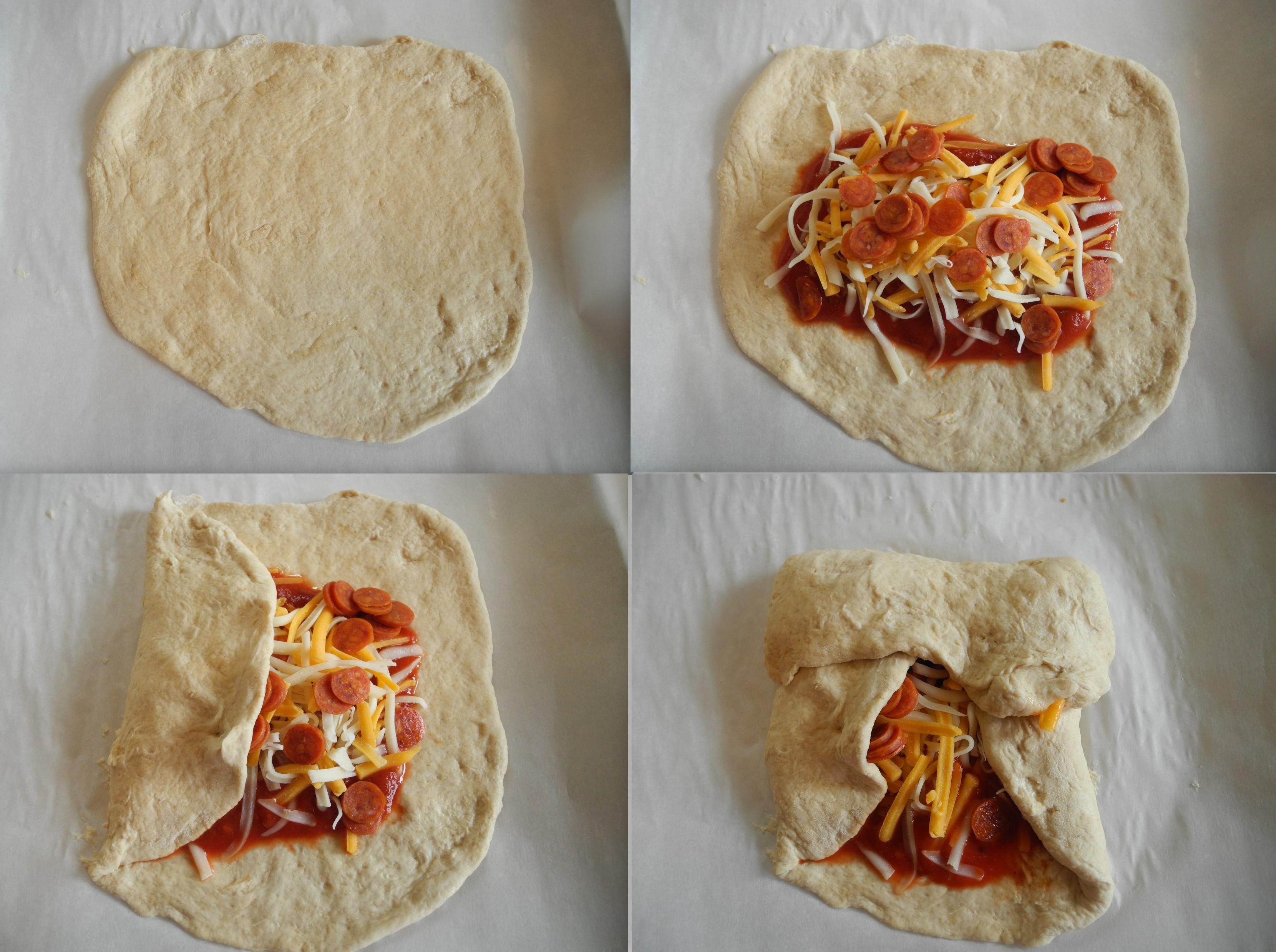 homemade pizza pockets reini days